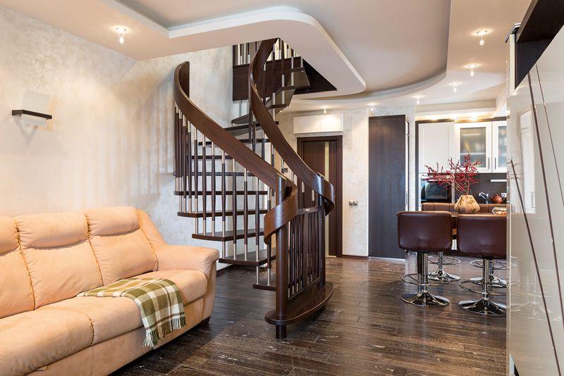 Лестница на входе своими руками 129