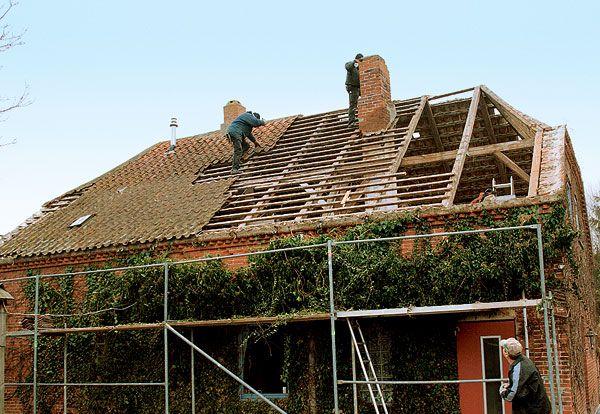 Новая жизнь старой крыши.